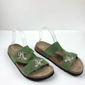 Betula By Birkenstock Zara Embroidered Sandals
